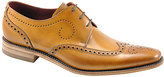 Loake Kruger Derby Shoes, Tan