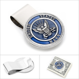 Ice Pewter U.S. Navy Money Clip