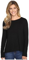 Lilla P Long Sleeve Pleat Back Women's Clothing