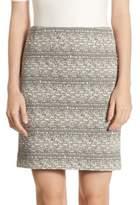 Akris Punto Stretch Jersey Mini Skirt