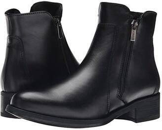 La Canadienne Saria (Black Leather) Women's Dress Boots