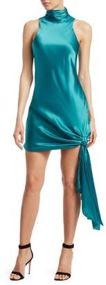 Cinq à Sept Denise Silk Mockneck Dress