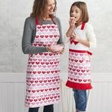 Sur La Table Valentine Hearts Kitchen Apron