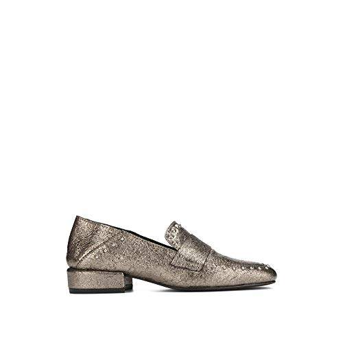 Kenneth Cole New York Women's Bowan 2 Slip on Loafer with Stud Detail Flat