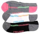 Converse 3 Pack No Show Socks
