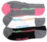 Converse 3 Pack Women's No Show Socks