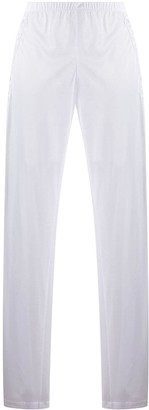 La Perla Elasticated-Waist Straight Trousers
