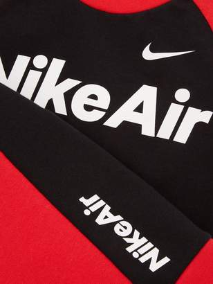 Nike Sportswear Air Younger Boys Shorts Set - Black/Red