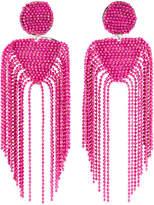 Nakamol Double-Tassel Earrings, Pink