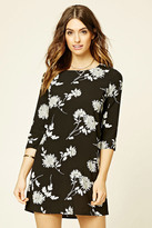 Forever 21 FOREVER 21+ Contemporary Floral Shift Dress