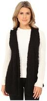 Kensie Sherpa Knit Vest KSNK5818