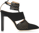Reed Krakoff Mesh, rubber and patent-leather pumps