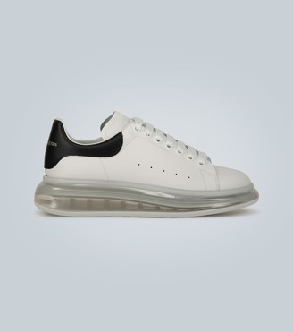 Alexander McQueen Oversized transparent sole sneakers