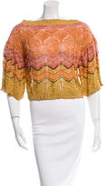 Missoni Patterned Bell Sleeve Top