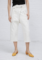 Rachel Comey dirty white tolleson pant