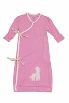 silkberry baby Kimono Sleeper Gown