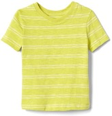 Gap Double stripe slub tee