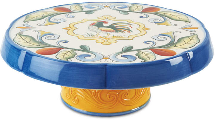 Fitz & Floyd Ricamo Multi-Purpose Chip and Dip Serving Stand