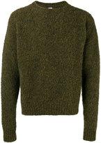E. Tautz flocked round neck jumper