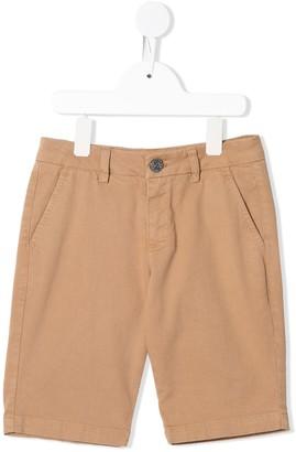 Roberto Cavalli Junior Mid-Rise Chino Shorts