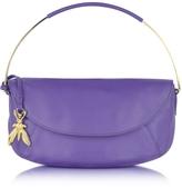 Patrizia Pepe Nappa Leather Shoulder Bag