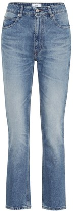 AMI Paris Mid-rise straight jeans