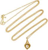 Annette Ferdinandsen Cala Lily 18K Gold Diamond Necklace