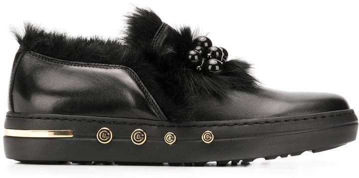 bee3f959daf76 beaded fur embellished loafers