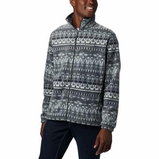 Columbia Steens Mountain Print Fleece Jacket - Men's