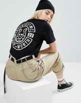 Dickies Oversized Boyfriend T-Shirt With Skull Back Print
