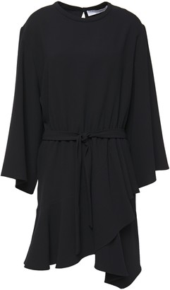 IRO Belted Neon Crepe Mini Dress