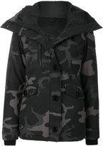 Canada Goose padded camouflage jacket