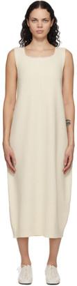 RUS Off-White Cashmere Tokei Dress