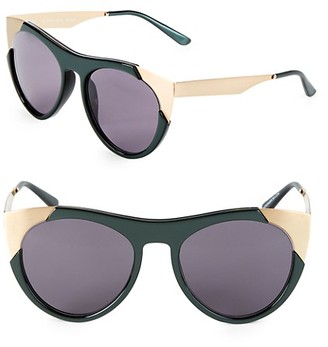 Smoke X Mirrors 53MM Butterfly Sunglasses