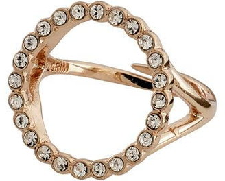 Pilgrim Ring : Malin : Rose Gold Plated : Crystal