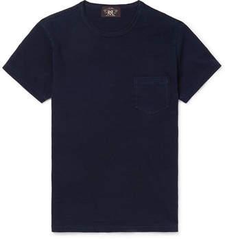Ralph Lauren RRL Slim-Fit Indigo-Dyed Cotton-Jersey T-Shirt