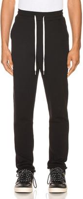 John Elliott Sochi Sweat Pants in Black | FWRD