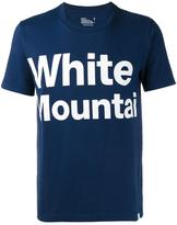 White Mountaineering Logo Printed T-shirt