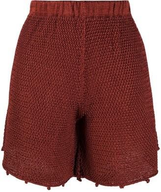 Forte Forte Elasticated Knitted Shorts