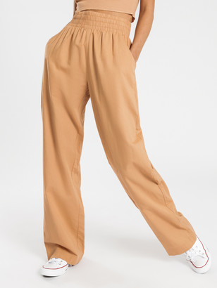 Nude Lucy Amber Linen Pants in Clay
