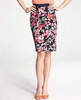 Ann Taylor Tall Wild Blooms Skirt