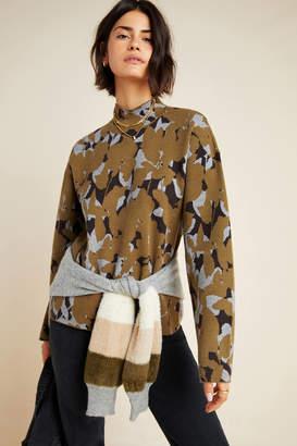 Anthropologie Lizzie Mock Neck Sweater