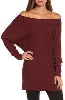 Trouve Women's Off The Shoulder Sweater