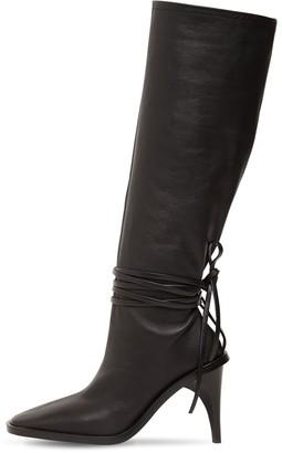 Jil Sander 95mm Tall Leather Boots