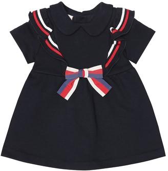 Gucci Kids Baby cotton-jersey dress