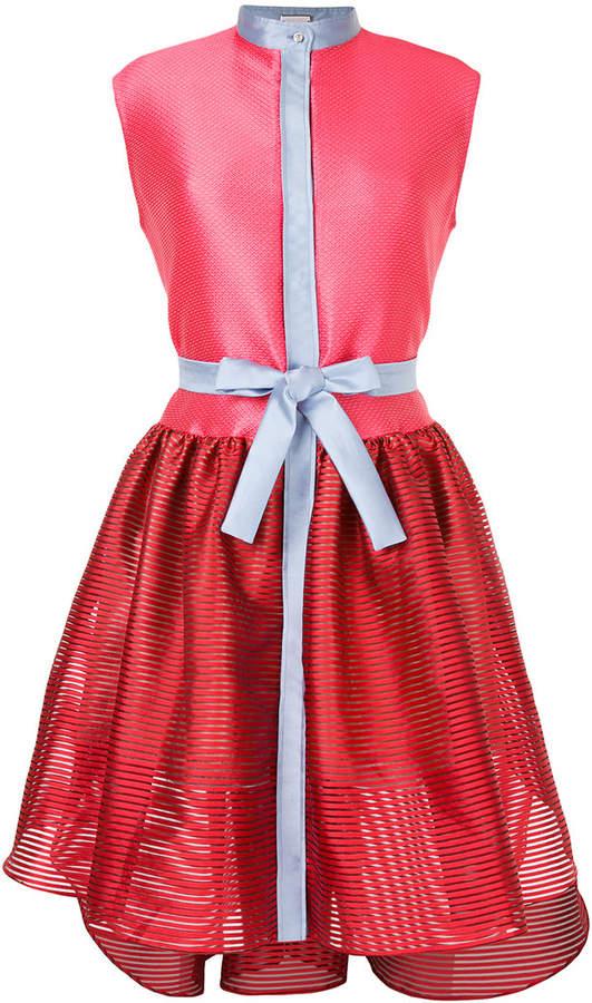 Alexis Mabille colourblock sleeveless dress