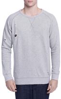 Earnest Sewn Ross Crewneck Fleece Cotton Sweatshirt
