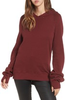 Pam & Gela Women's Distressed Sweatshirt