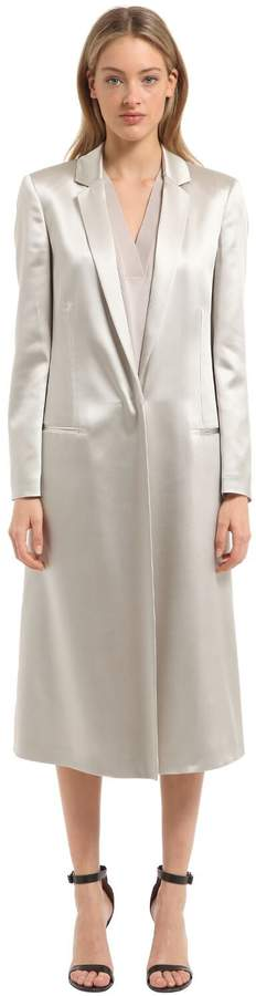Calvin Klein Collection Fluid Satin Light Coat