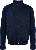 Tod's denim bomber jacket - men - Cotton/Polyester/Spandex/Elastane/Viscose - S